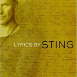 Sting lyric book