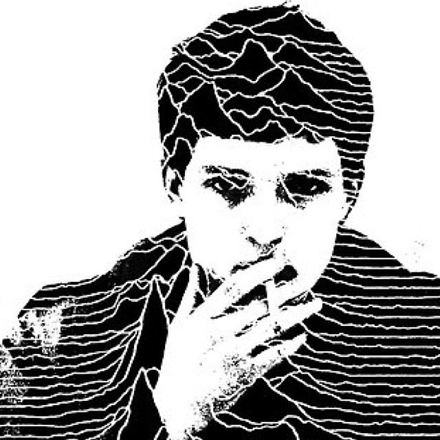 Ian Curtis illustration