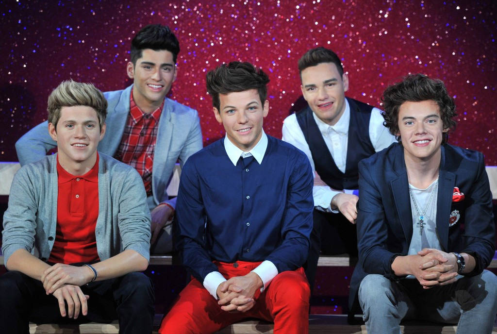 One Direction waxworks unveiled