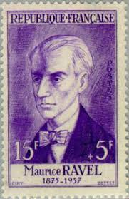 French composer Maurice Ravel